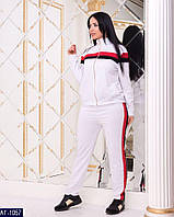 e727cf64ad53 Женский стильный прогулочный костюм,кофта с длинным рукавом,без капюшона  (турецкая двухнитка)