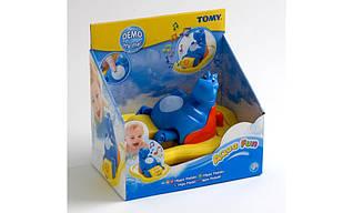 Игрушка для купания Поющий гиппопотам на катамаране TOMY