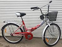 Городской складной велосипед Салют+ 24 (Украина) Харьков, фото 1