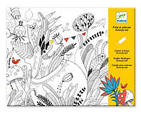 Альбом - раскраска Бал бабочек