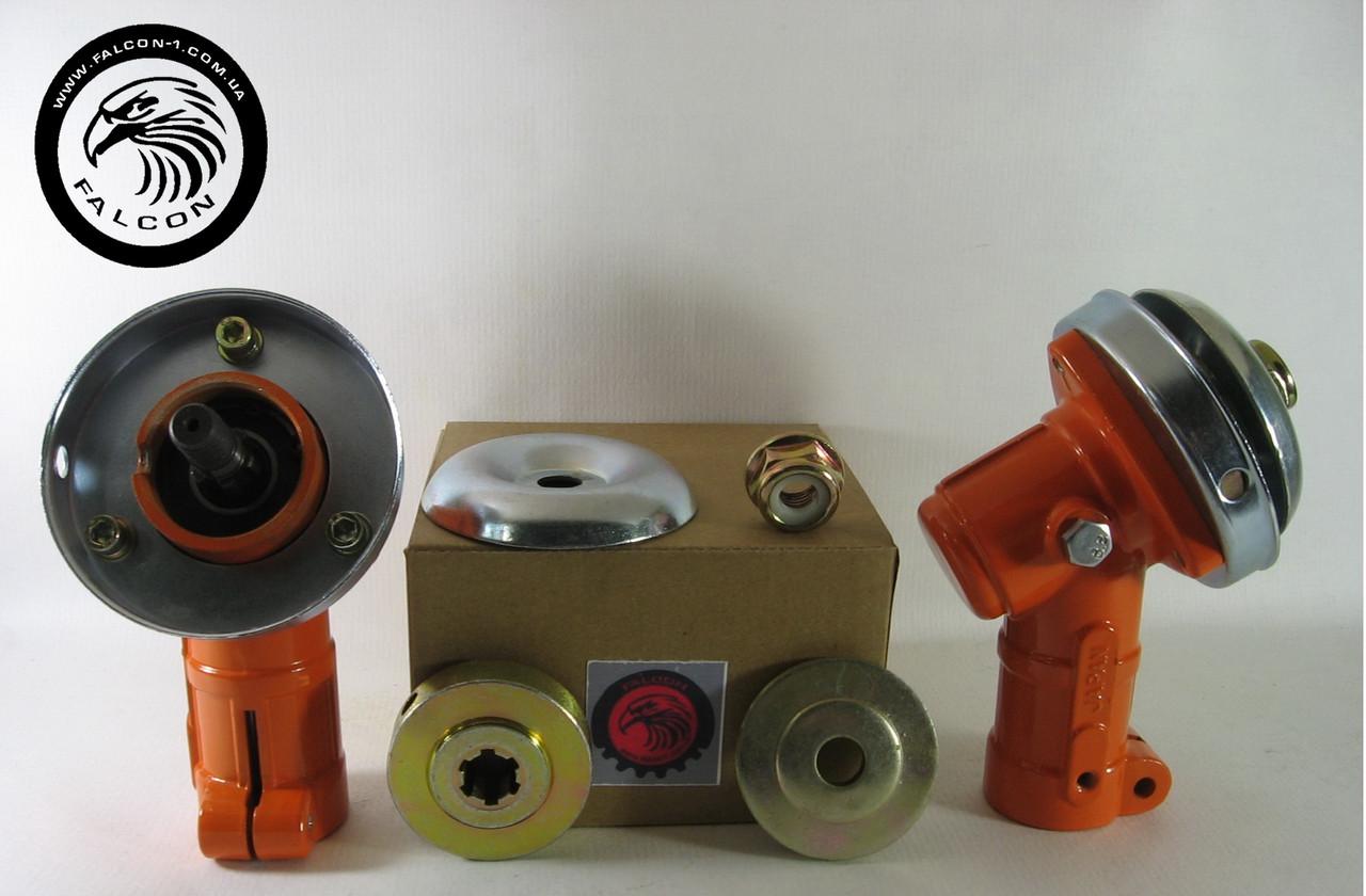 Редуктор для мотокос 7 шлицов, D (трубы) = 26 мм, d (вала) = 8 мм