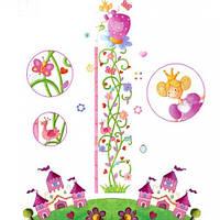 Наклейка бумажная с рисунком, декоративная, Ростомер Принцесса Маргарита