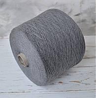 Пряжа Хлопок 100% Monticolor  Серый меланж.