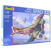 Самолет (1917 г, Франция) Spad XIII WW1 Fighter 1:28 10+