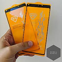 Full Glue 5D 6D черное белое стекло для Xiaomi Mi MIX 2s.