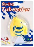 Игрушка для ванной комнаты с заводным механизмом «Мои морские друзья», Рыбка