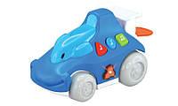 Машинка со световыми и звуковыми эффектами, Синяя