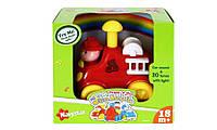 Музыкальная игрушка 'Press & Go' «Команда спасателей» со световыми эффектами , Пожарная машина
