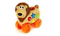 Музыкальная игрушка со световыми эффектам Дружелюбные животные, Лев