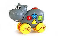 Музыкальная игрушка со световыми эффектам Дружелюбные животные, Бегемот