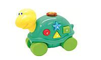 Музыкальная игрушка со световыми эффектам Дружелюбные животные, Черепашка