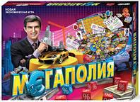 """Экономическая  настольная игра """"Мегаполия"""" Danko toys"""