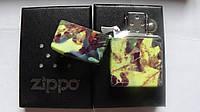 Зажигалка ZIPPO(хаки) в подарочной упаковке