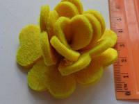Висічка Трояндочка жовта 363
