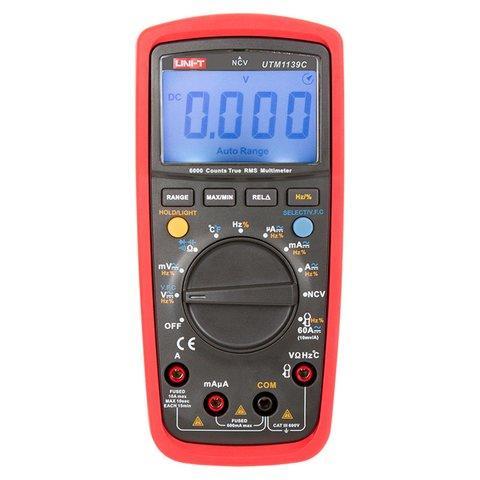 Мультиметр UNI-T UTM 139E (UT39E) цифровий