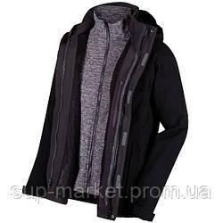 Куртка 3 в 1 Regatta Northton 3 in 1 XXL, черный