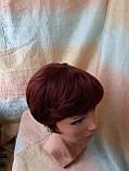 Парик из натуральных волос красно-медный NICOLE HH - 33А, фото 2