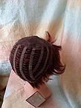 Парик из натуральных волос красно-медный NICOLE HH - 33А, фото 3