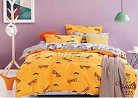 Детское подростковое постельное полуторное белье сатин Вилюта  - ЛЕТО