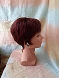 Парик из натуральных волос красно-медный NICOLE HH - 33А, фото 5