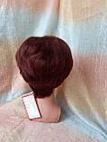 Парик из натуральных волос красно-медный NICOLE HH - 33А, фото 6