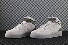 "Кроссовки Nike Air Force 1 Mid х Reigning Champ ""Серые"", фото 2"