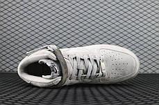 "Кроссовки Nike Air Force 1 Mid х Reigning Champ ""Серые"", фото 3"