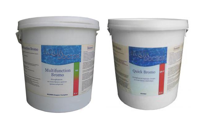 Средства для дезинфекции без хлора (на основе брома) AquaDOCTOR