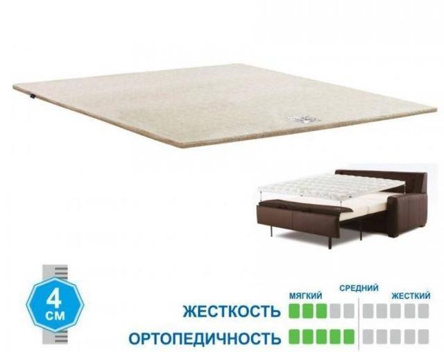Матрас TOPPER-FUTON 1, ТОППЕР-ФУТОН 1 бязь, жаккард (фото 2)