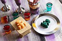 Пластиковые многоразовые тарелки десертные для детского праздника, дня рождения, кенди бара  CFP 6 шт 155 мм, фото 1