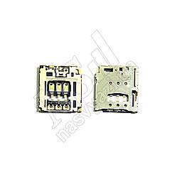 Коннектор SIM карты LENOVO B6000/B8000