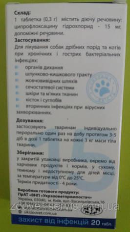 ЦИПРОЛАК 15 мг таблетки 0.3 гр, фото 2