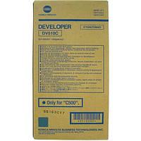 DV510C Developer Cyan f. PRO для Konica Minolta bizhub C500
