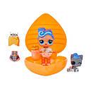 Игровой набор с куклами L.O.L. -  СЕРДЦЕ-СЮРПРИЗ (в оранжевом кейсе), фото 3