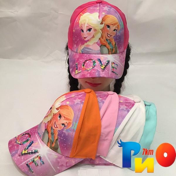 Детская  летняя кепка (100% cotton) для девочек р-р 52 (5 ед в уп) NA_5040