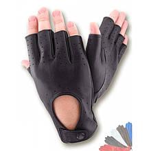Автомобильные перчатки из натуральной кожи без подкладки модель 299