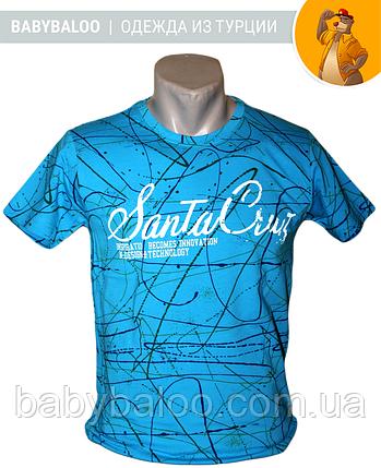"""Футболка юниор мальчик """"Santa Cruz""""( рост от 134 до 164 см), фото 2"""
