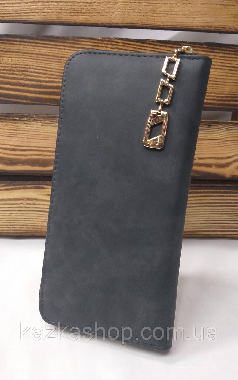Женский кошелек из искусственной кожи, на молнии, 4 купюрницы, для 12 карт