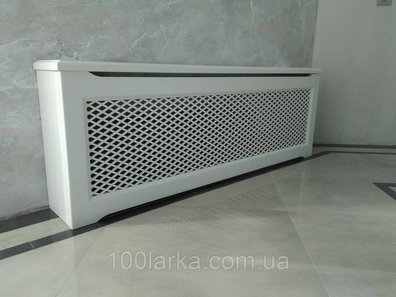 Декоративный экран-решетка (короб) на батарею отопления R107-K