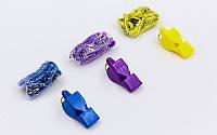 Свисток судейский пластиковый PEARL FOX40-9703