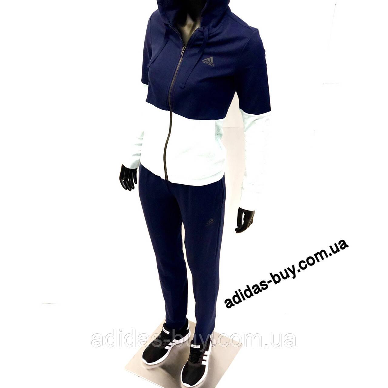 adef2333173 Женский костюм adidas WTS CO MARKER CY3509 цвет  синий салатовый  оригинальный - ORIGINAL SHOES