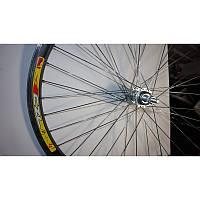 """Задний обод на велосипед 26"""" (двухслойный, алюминиевый) с алюминиевой втулкой"""