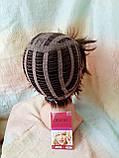Короткий парик из термоволокна каштановый 2763t-33, фото 8