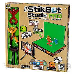 Студия Стикбот Stikbot studio студия со штативом и сценой