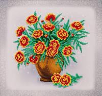 Квітковий етюд (друк на тканині)