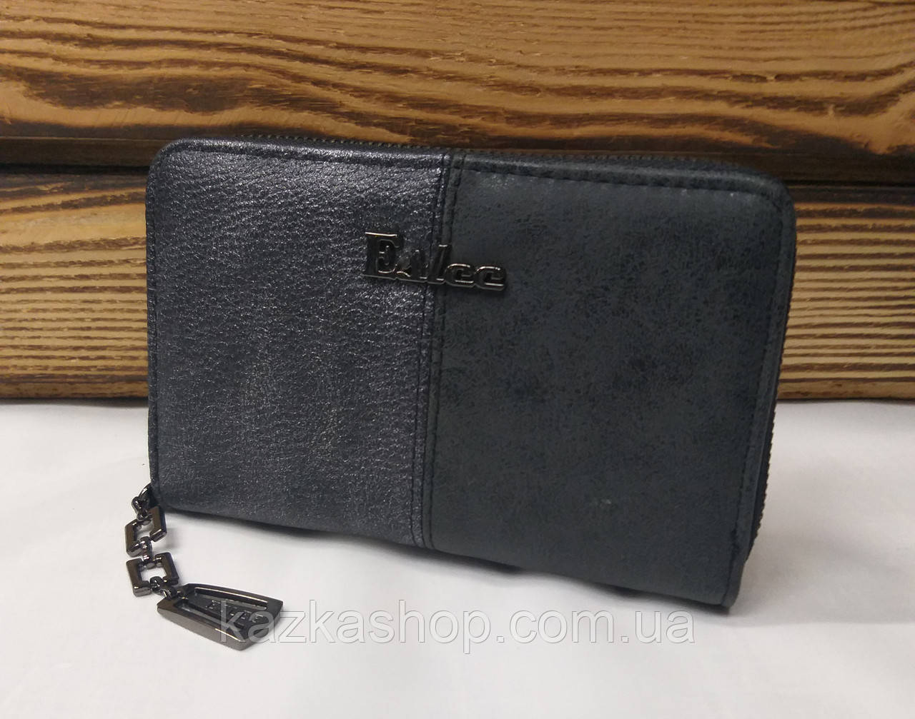 Женский кошелек из искусственной кожи, на молнии, 5 купюрниц, для 6 карт