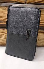 Женский кошелек из искусственной кожи, на молнии, 5 купюрниц, для 6 карт, фото 3