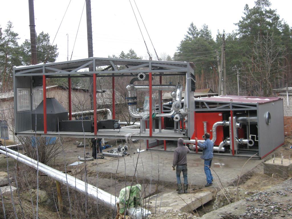 Блочная котельная на 2 МВт (больница Балаклея) поставка оборудования