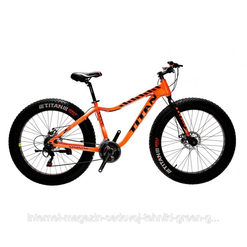 Велосипед Titan Crossover 26″, алюминиевая рама (Украина)