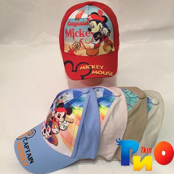 Детская  летняя кепка (100% cotton) для мальчика р-р 50 (5 ед в уп) NA_4538